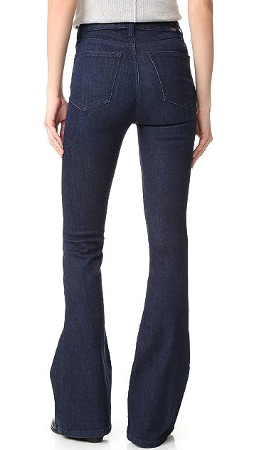 DL1961 Jessica Alba No.5 Instaslim Flare Jeans