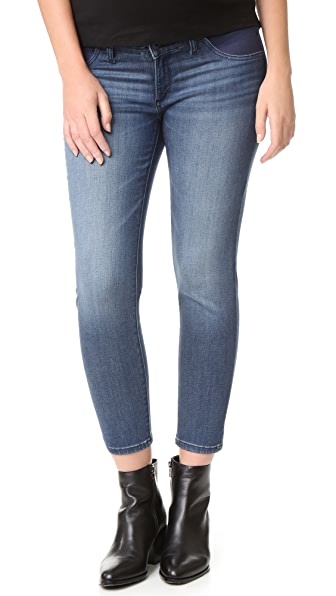 DL1961 Florence Instasculpt Crop Maternity Jeans - Orwell