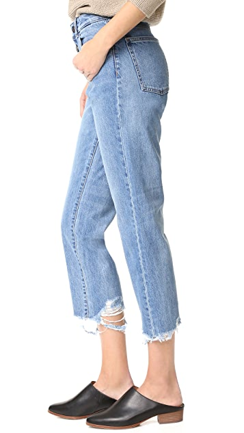 DL1961 Patti High Rise Straight Jeans