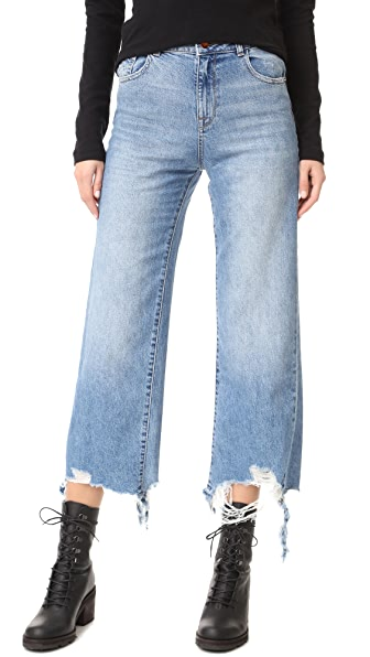 DL1961 Hepburn High Rise Wide Leg Jean