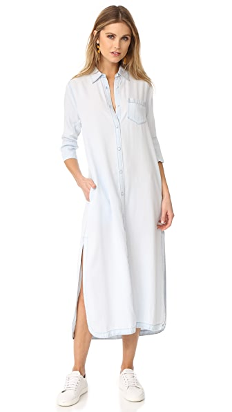 DL1961 Fire Island Maxi Shirt Dress at Shopbop
