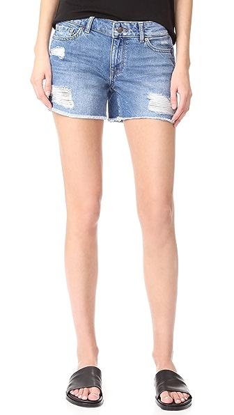 DL1961 Karlie Boyfriend Shorts - Sprawling