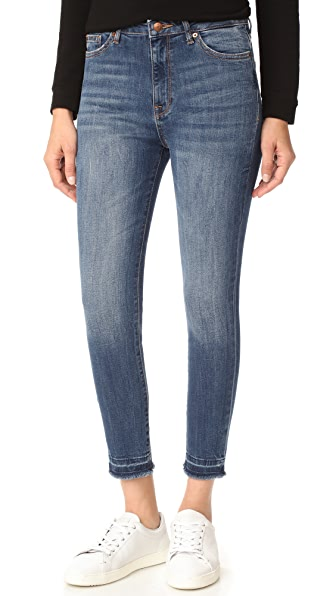 DL1961 Chrissy Trimtone Skinny Jeans - Incognito