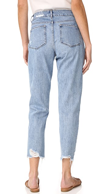 DL1961 Goldee High Rise Tapered Jeans
