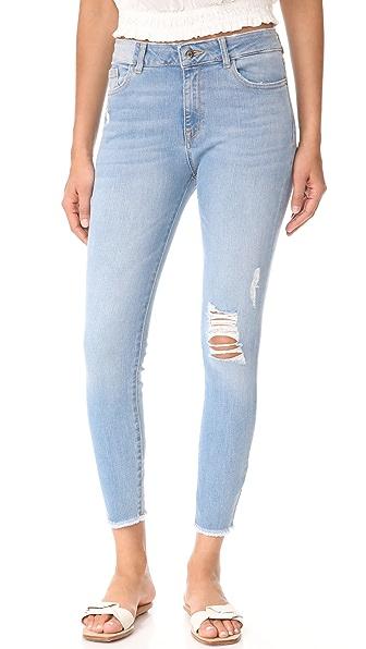 DL1961 Farrow Ankle Skinny Jeans In Trophy