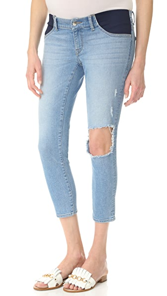 DL1961 Florence Crop Maternity Jeans - Clifton