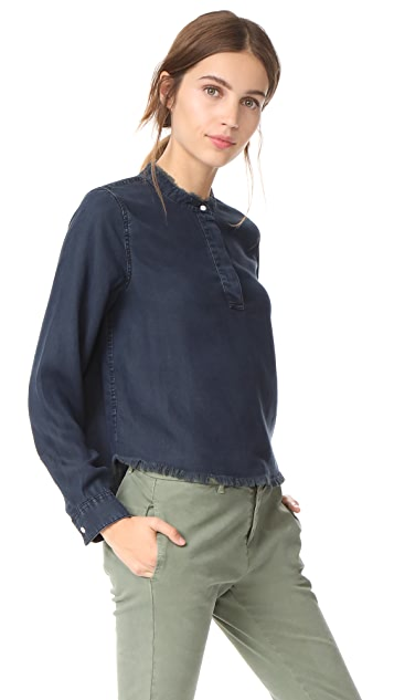 DL1961 W 3rd & Sullivan Long Sleeve Top