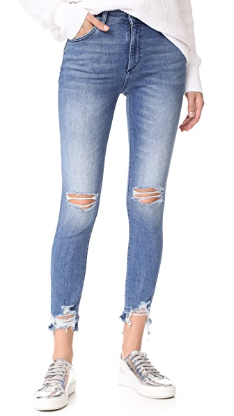 DL1961 Farrow High Rise Jeans - Laramie