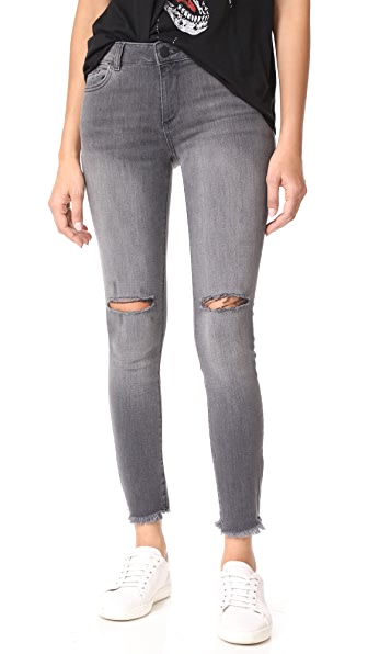 DL1961 Margaux Instasculpt Ankle Skinny Jeans - Quaker