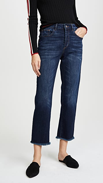 DL1961 Patti Sulton High Rise Straight Jeans