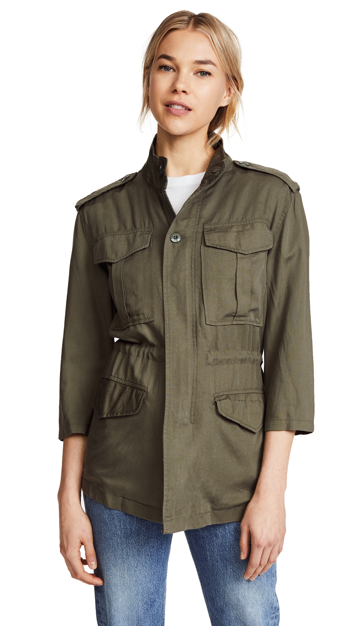 Buy DL1961 Beekman Military Jacket online beautiful DL Clothing, Jackets