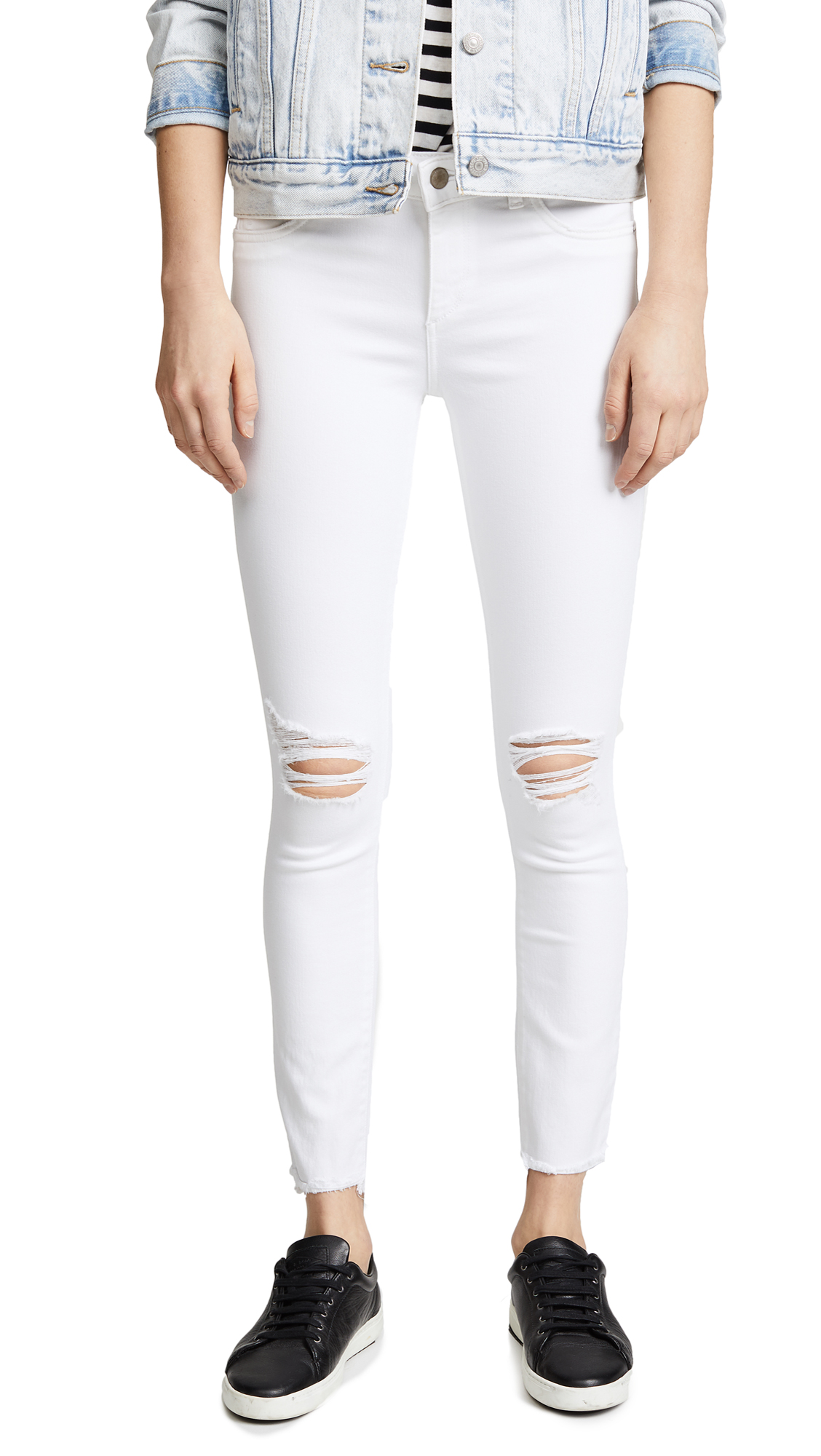 DL1961 Margaux Instasculpt Ankle Skinny Jeans In Newport