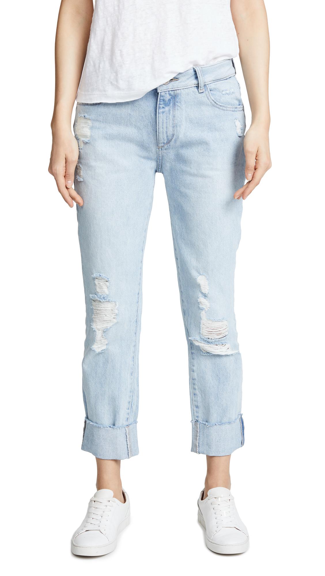 DL1961 Stevie Rigid Slim Boyfriend Jeans