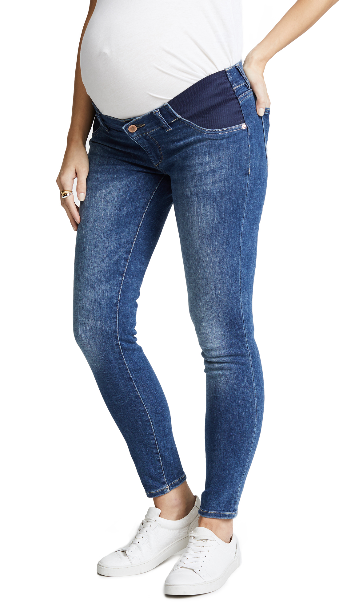 Angel Ankle Maternity Skinny Jeans