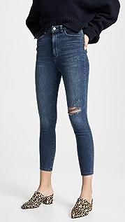 DL1961 Chrissy 高腰紧身牛仔裤