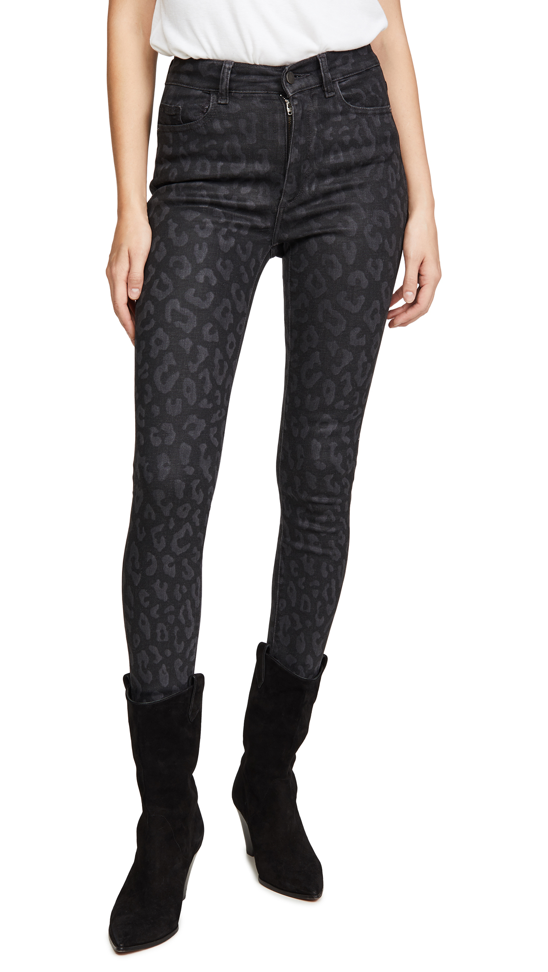 Buy DL online - photo of DL1961 Farrow Ankle High Rise Skinny Jeans