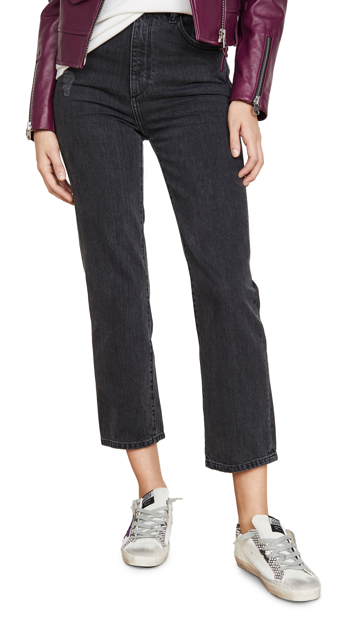 Buy DL online - photo of DL1961 x Marianna Hewitt Jerry High Rise Vintage Straight Jeans