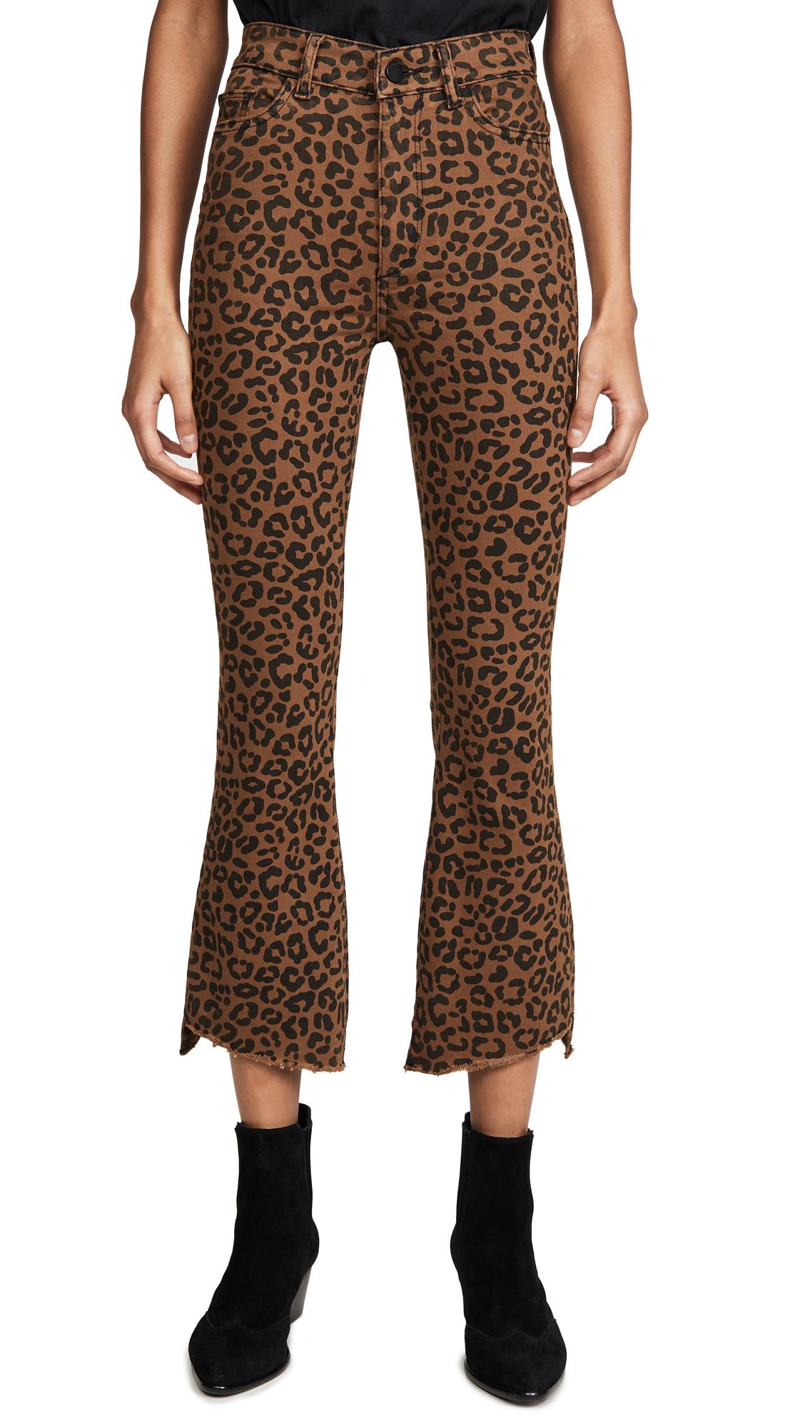 Buy DL online - photo of DL1961 Bridget Crop High Rise Bootcut Jeans