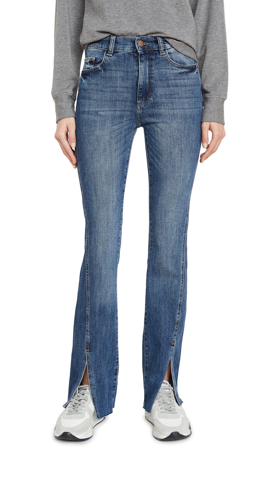Buy DL online - photo of DL1961 Bridget High Rise Bootcut Jeans
