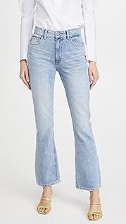 DL1961 Bridget 高腰微喇牛仔裤