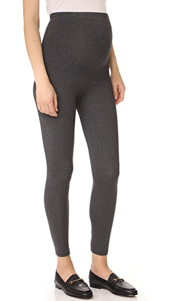 David Lerner Maternity Leggings - Charcoal