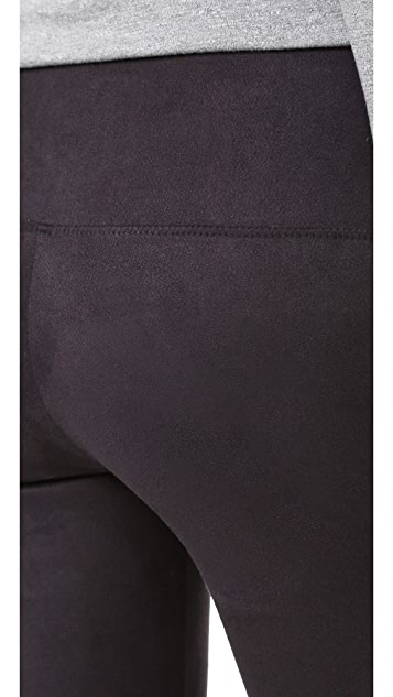 David Lerner Elliot Microsuede Leggings