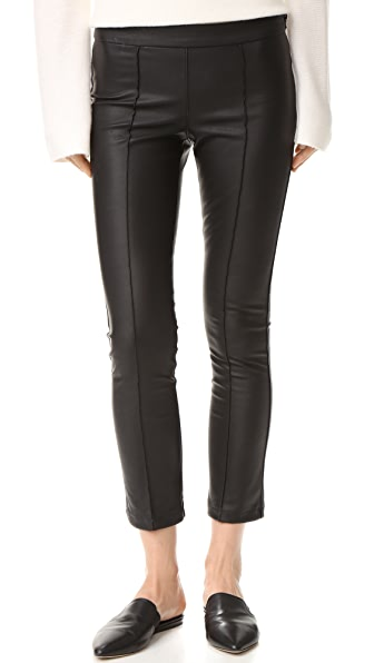 David Lerner Pintuck Cropped Pants