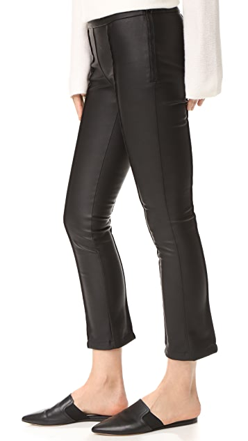 David Lerner Pintuck Cropped Pants