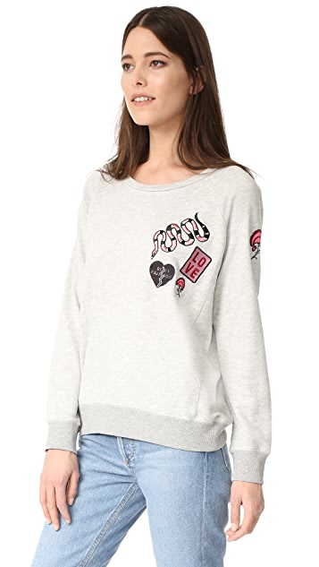 David Lerner Patches Pullover