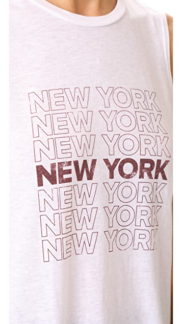 David Lerner New York Muscle Tank