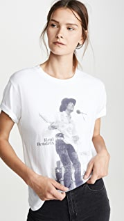 David Lerner Футболка в мужском стиле Concert с изображением Джими Хендрикса