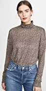 David Lerner Oversized Turtleneck Top