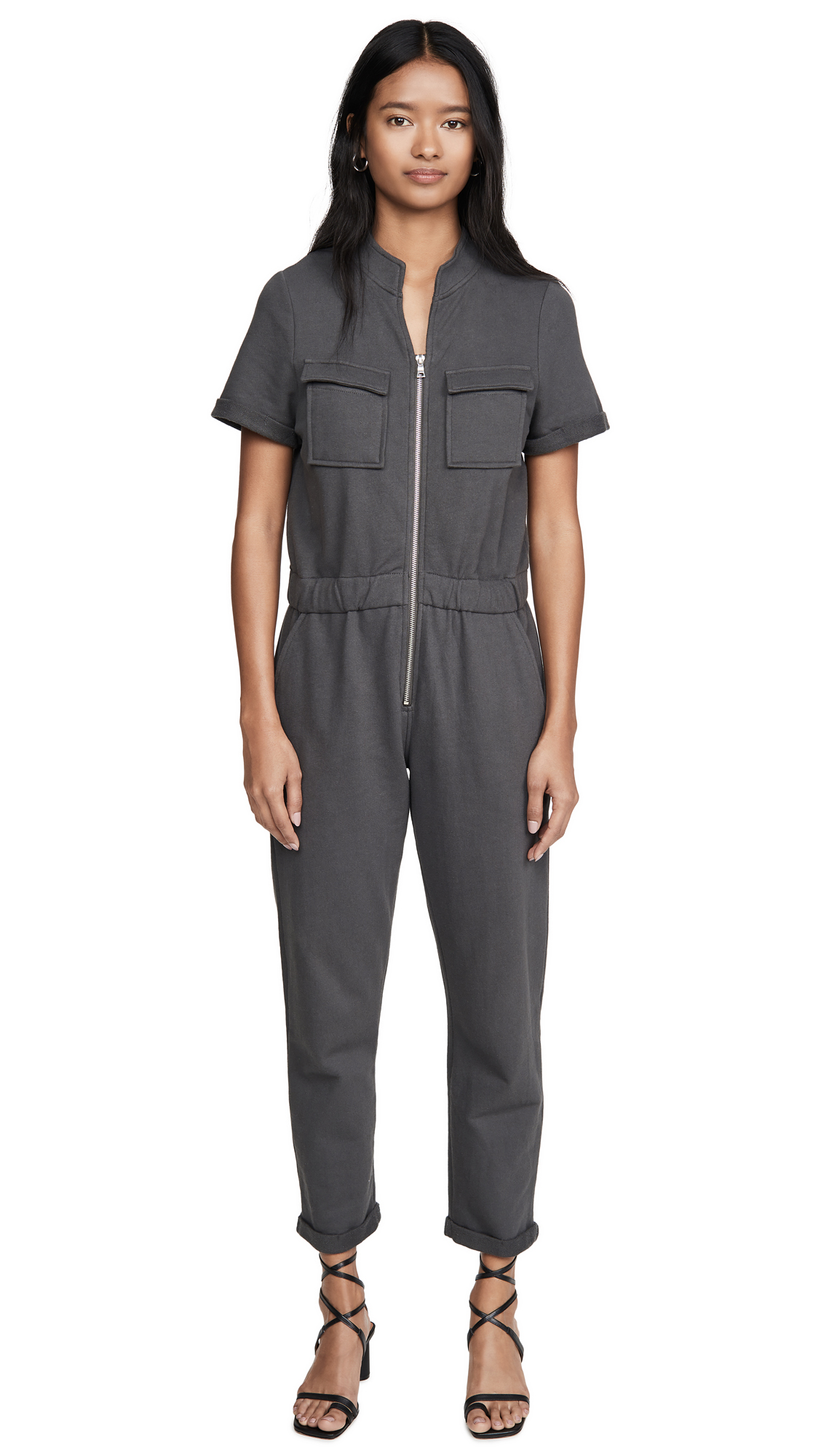 Buy David Lerner online - photo of David Lerner Cassie Sweat Jumpsuit