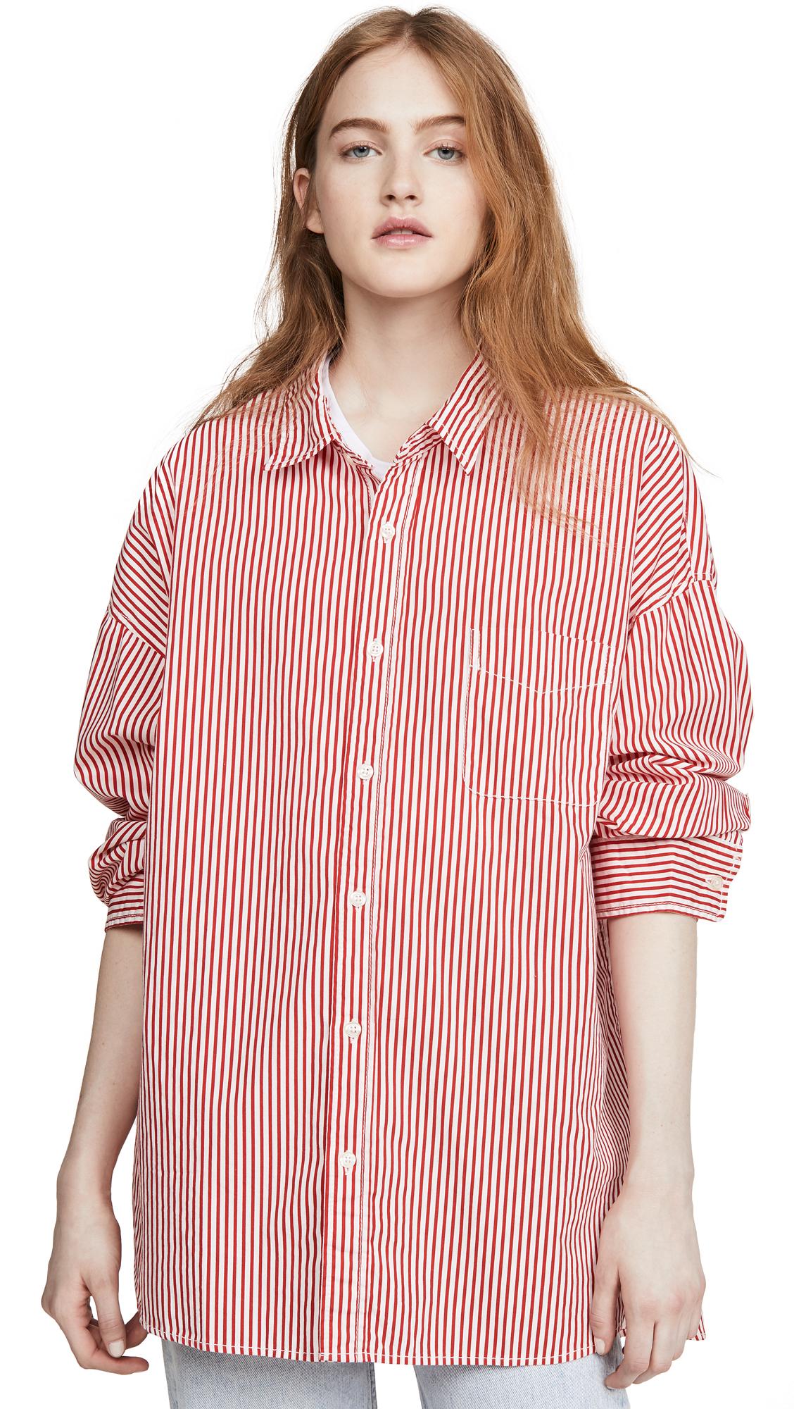 Denimist Button Front Shirt - 30% Off Sale