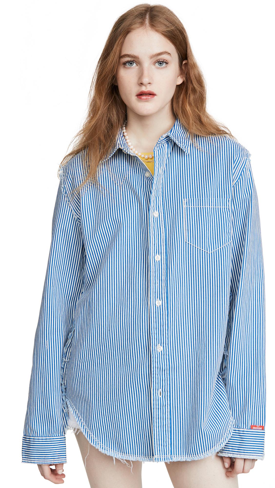 Denimist Frayed Edge Shirt - 30% Off Sale