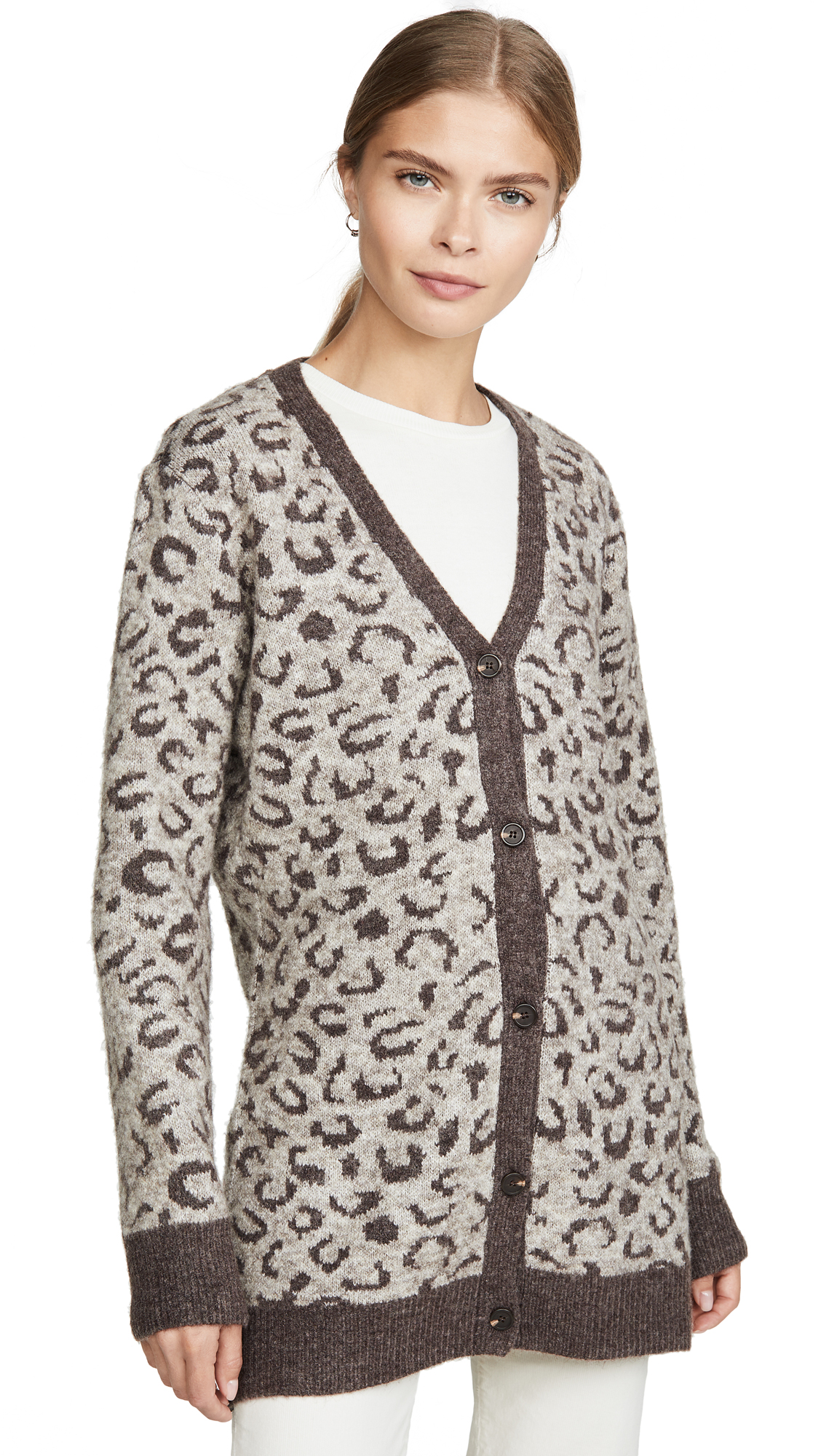 Buy DNA online - photo of DNA Cheetah Cardigan