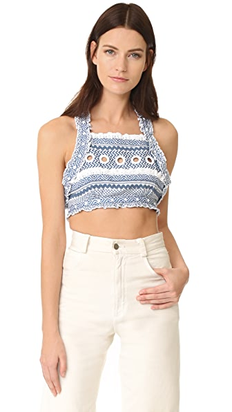 DODO BAR OR Yoav Top - Blue/White