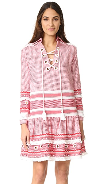DODO BAR OR Gadielle Dress - Red/White