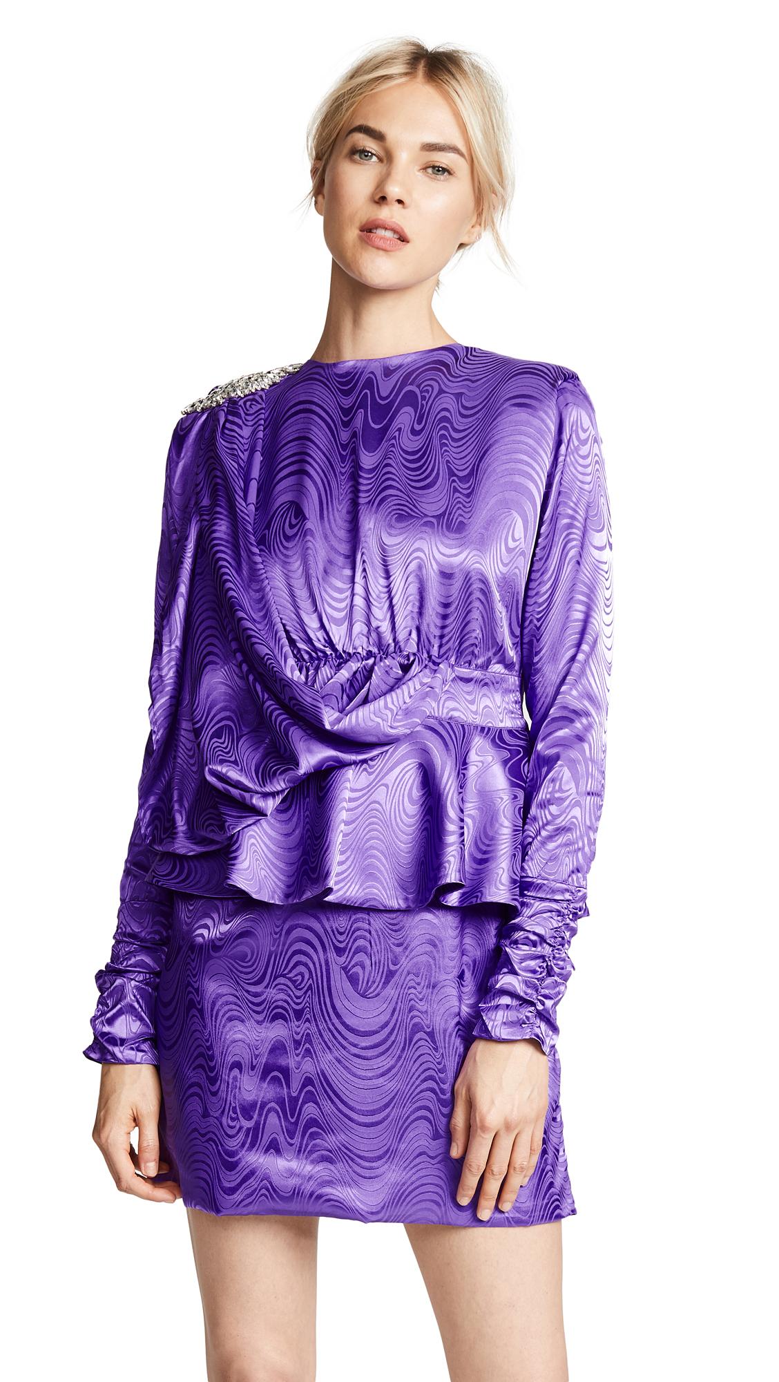 DODO BAR OR Grace Mini Dress In Purple Spirala