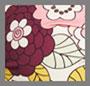 три розовых цветка