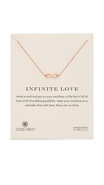 Dogeared Infinite Love Necklace