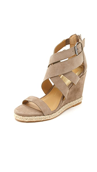 Dolce Vita Kova Wedge Sandals - Almond at Shopbop