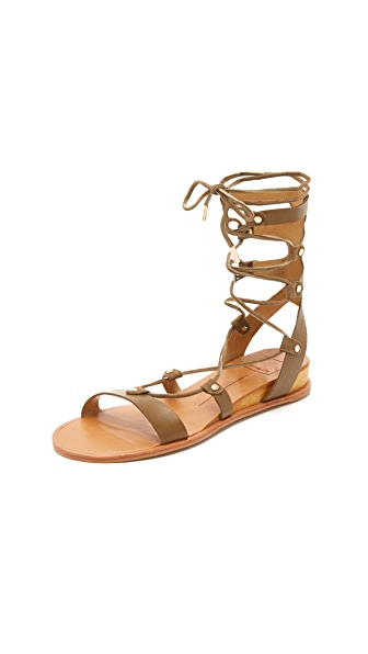Dolce Vita Pax Gladiator Sandals - Olive at Shopbop