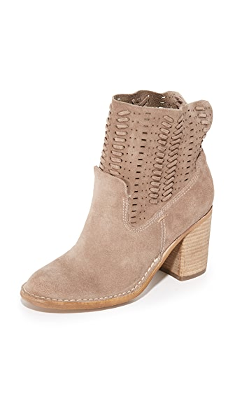 Dolce Vita Landon Booties - Dark Taupe at Shopbop