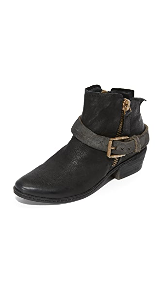 Dolce Vita Nevada Buckle Booties - Black at Shopbop