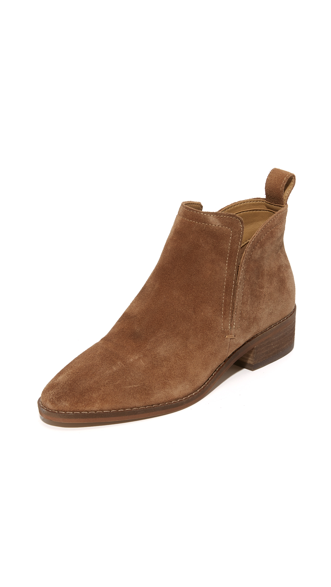 Dolce Vita Tessey Booties Shopbop D Island Shoes Casual Zappato England Suede Dark Brown