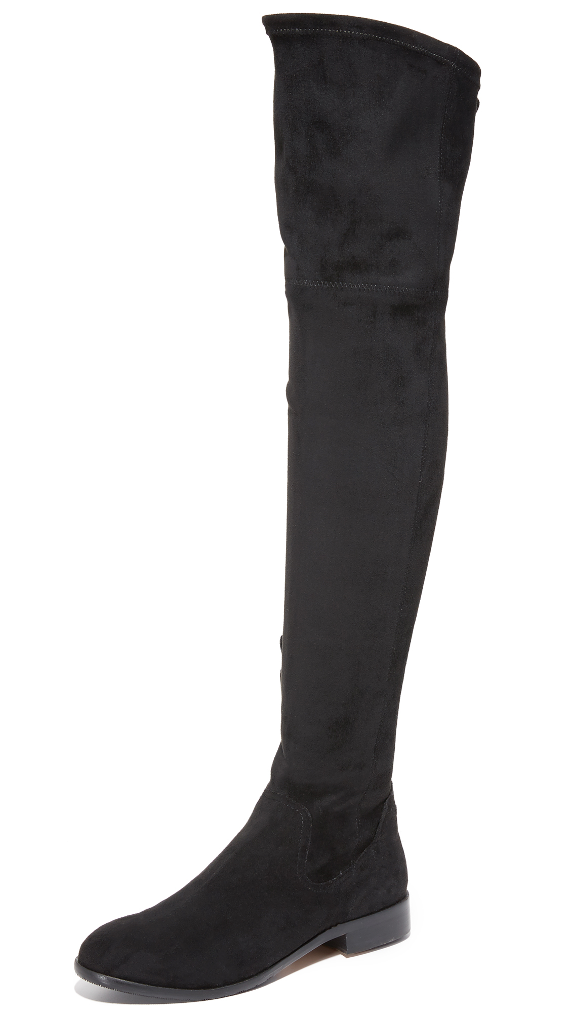 Dolce Vita Neely Over The Knee Boots - Black