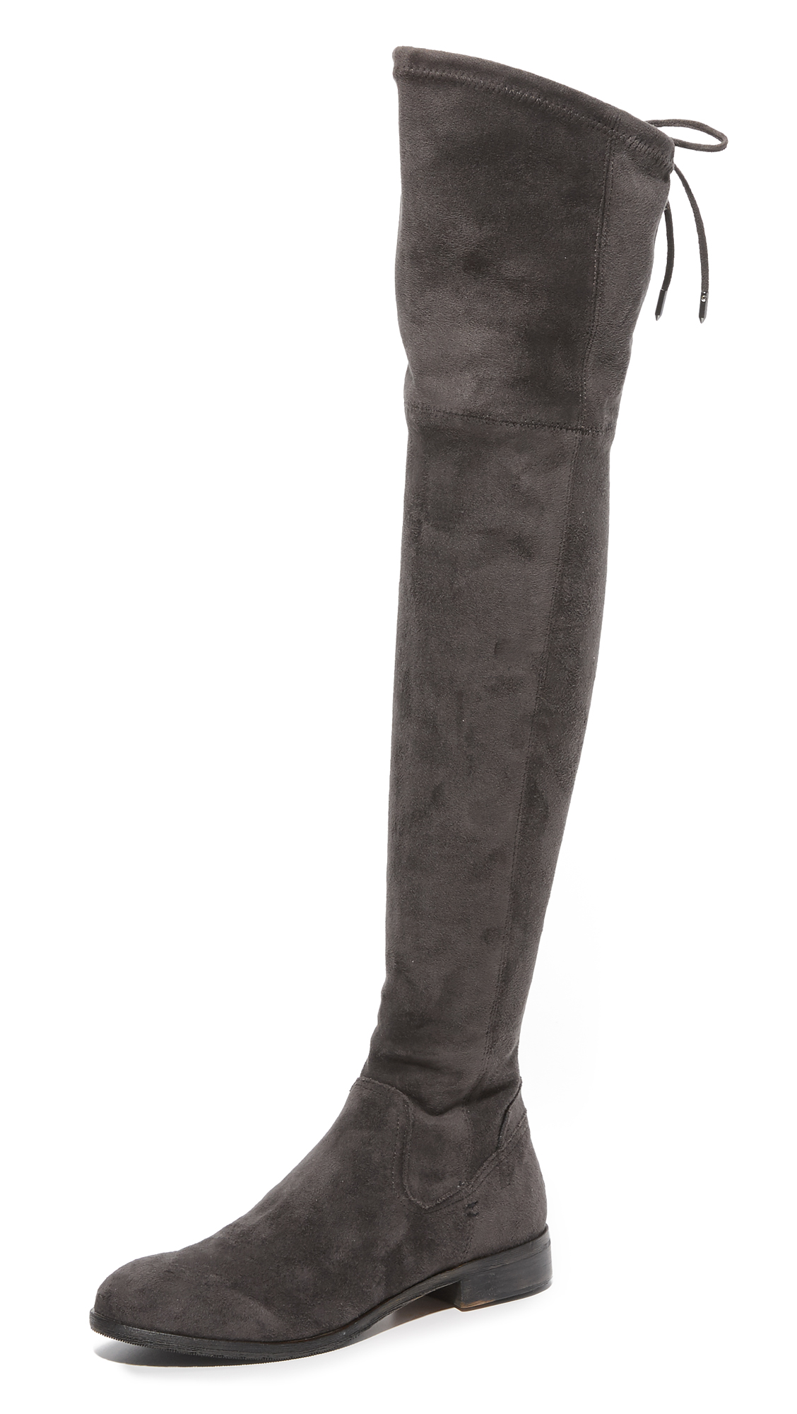 Dolce Vita Neely Over The Knee Boots - Anthracite at Shopbop