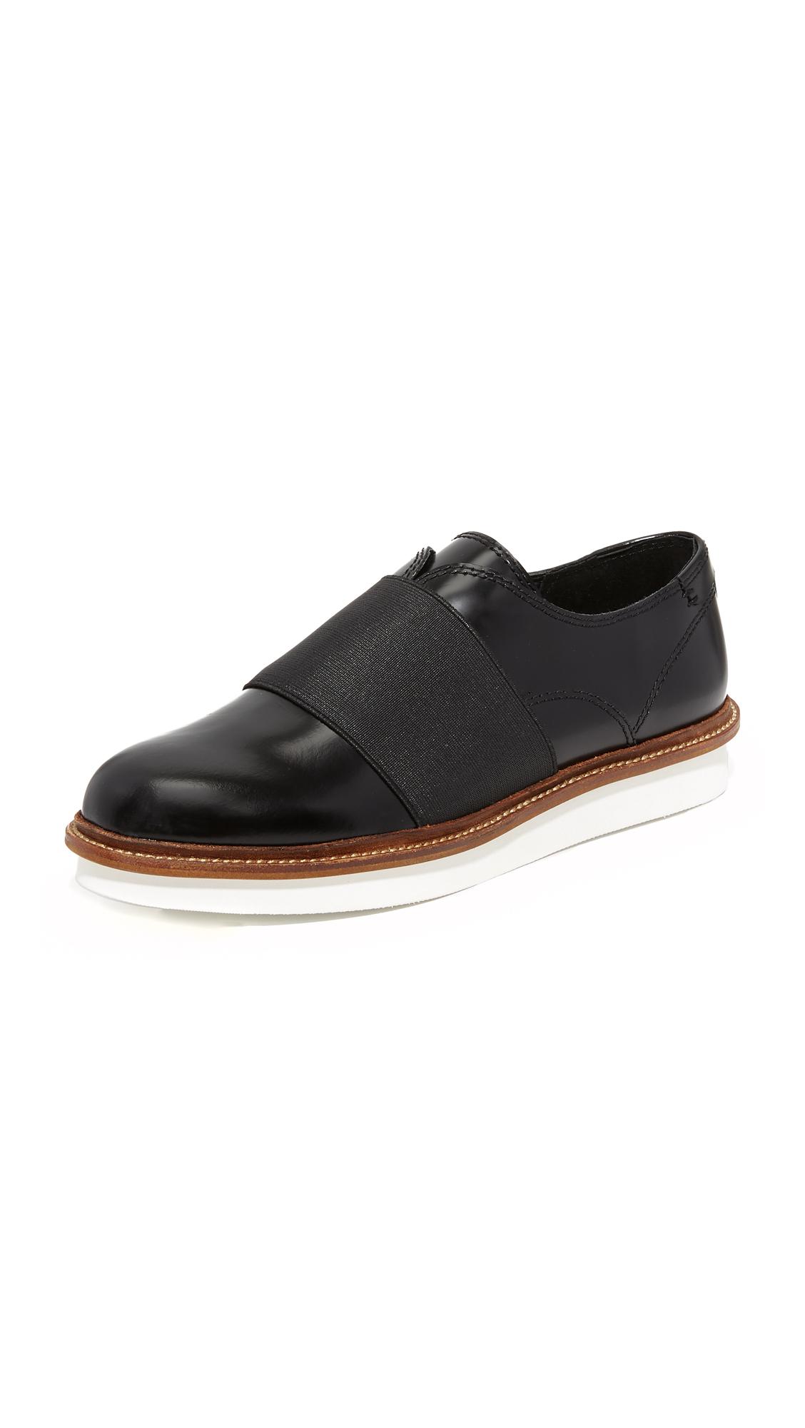 Dolce Vita Saxon Slip On Oxfords - Black at Shopbop