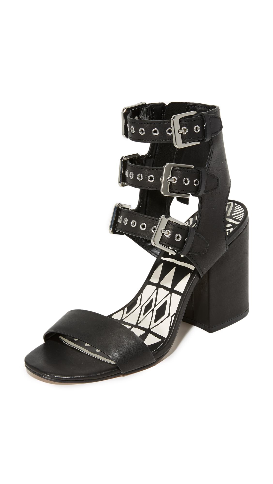 Dolce Vita Edin Block Heel Sandals - Black at Shopbop